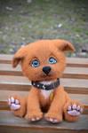 Puppy Needle Felted Arnie