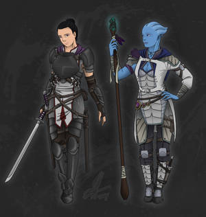 Fantasy Mass Effect Concept