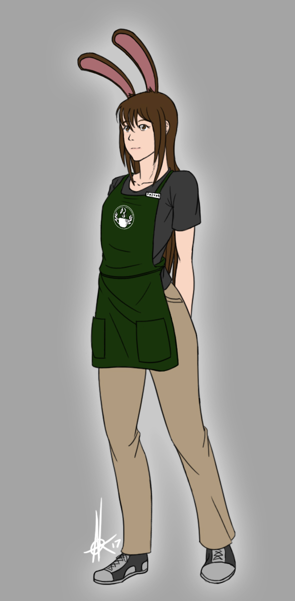 Barista Bunny by canius