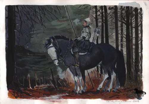 Folktaleweek day1: forest