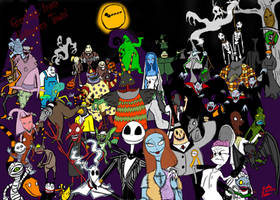 Greetings from Halloween Town by TheZoologist