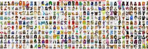 Brad Dotson's 500 Favorite Characters Meme