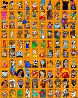 Brad's 1000 Character Meme - Part 2 - Disney by TheZoologist