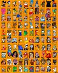 Brad's 1000 Character Meme - Part 2 - Disney