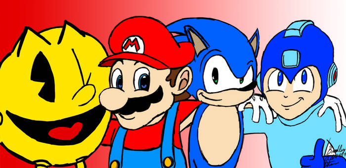 The Fantastic Four of Video Gaming