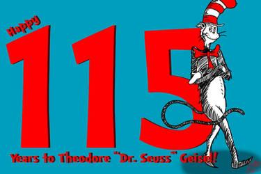 Happy 115th Birthday, Theodore 'Dr. Seuss' Geisel!