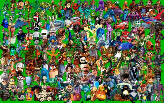 4 - 200 Favorite Pixar and CGI Characters