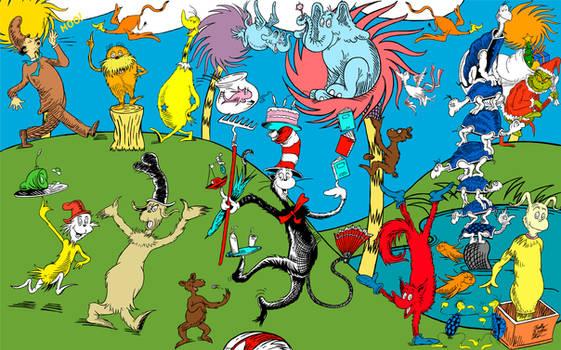 Dr. Seuss Mural