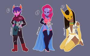 Dark creatures :OPEN: by MakuCraft
