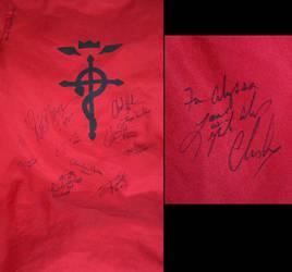 Fullmetal Alchemist Jacket Signed by kikyo4ever