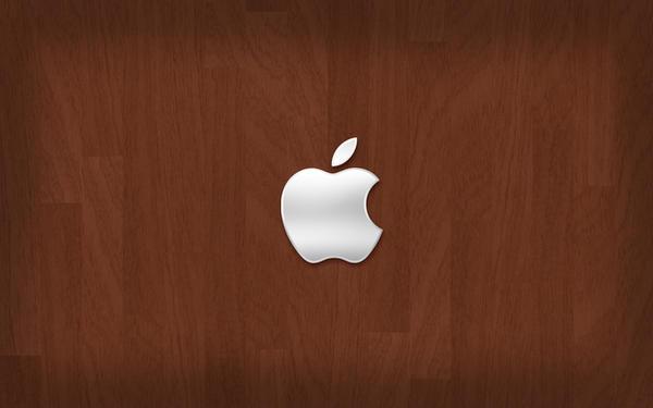 Apple on Wood by igelkotten