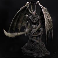 CGHub's Demon render by Tioxic
