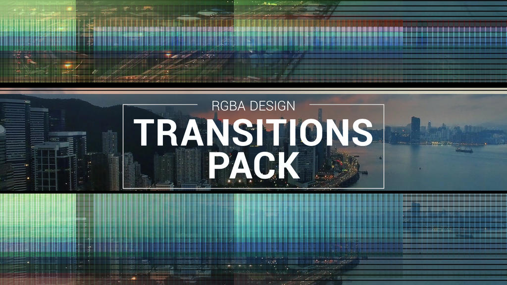 Transitions Pack Adobe After Effects Template by RGBA-Design on ...