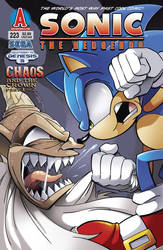 Sonic The Hedgehog 223 - Cover