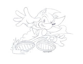 Sonic by SnakeDiver