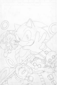 Sonic The Hedgehog FCBD 2016 - Pencil