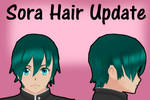 Yandere Simulator: Sora Sosuke Hair Update