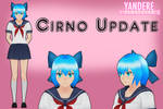 Yandere Simulator: Cirno Hair Update