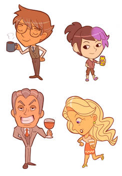 Fave drink chibis