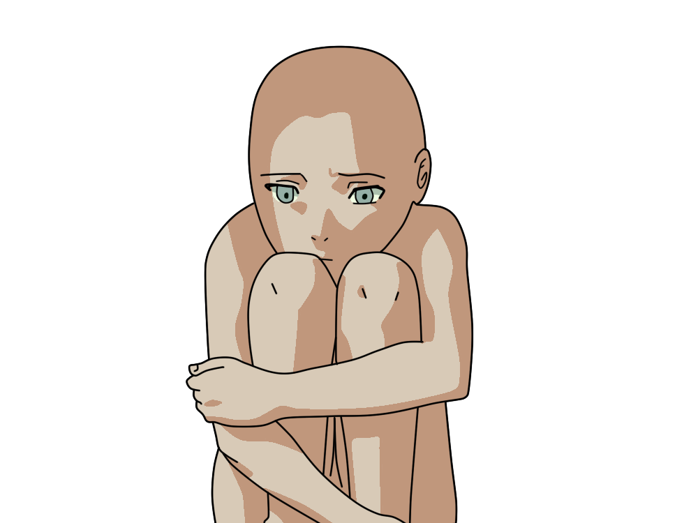 sakura sad base by basemakerofdarkness on deviantart