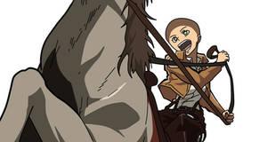 Isabel Magnolia horse taming base
