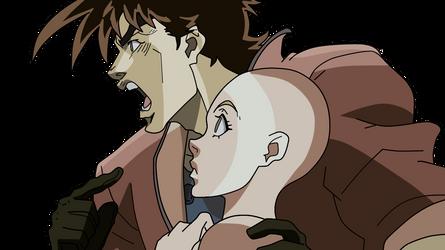Joseph and girlfriend base