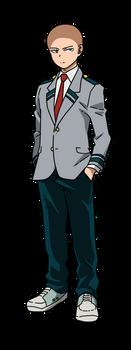 BNHA male profile uniform base 2 by Basemakerofdarkness