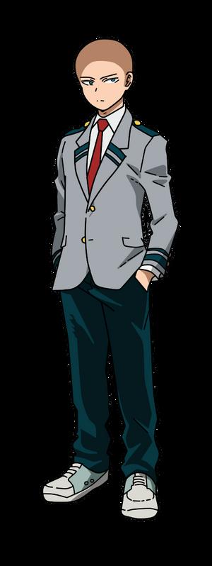 BNHA male profile uniform base 2