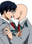 BNHA Tenya x base kiss by Basemakerofdarkness