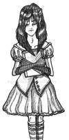 Tanya the Slugha Girl by Faeriedreamer