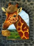 UPS Giraffe
