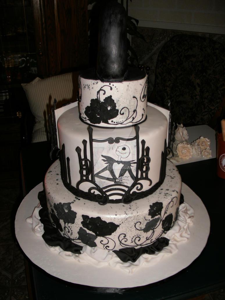 Jack Skeleton Painting Cake By Whitestar08 On Deviantart