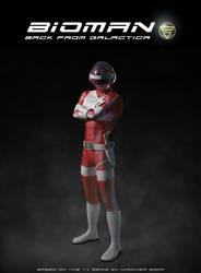 CG Bioman by jipandcie
