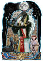 Thoth by JaniceDuke