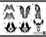 Hugin-Munin Logos