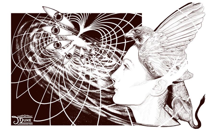 Perception sketch by JaniceDuke