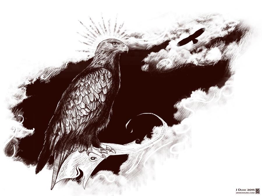 Golden Eagle Sketch