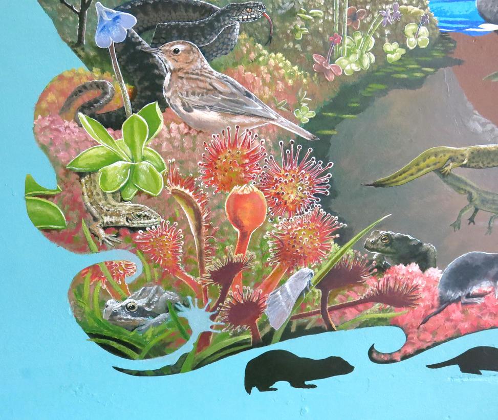 Finished Mural detail 4 by JaniceDuke