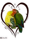 Foxburrows Lovebirds