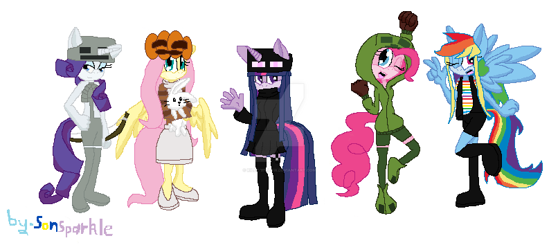Minecraft Spielen Deutsch Skins Para O Minecraft Sonic Bild - My little pony skins fur minecraft