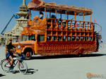 Burning Man Art Bus I