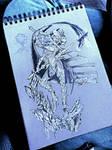 Duelist Dark Elf by VeraDigital