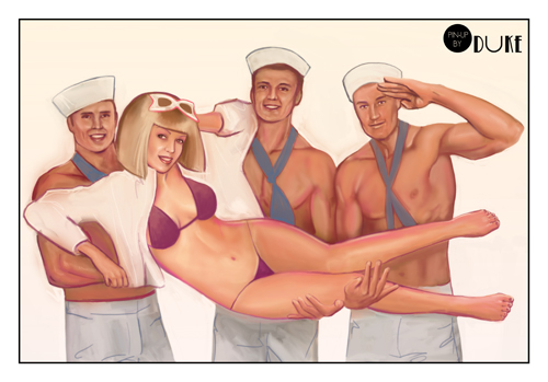 Fleet week by Pin-up-by-Duke