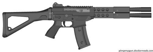 Demtek Hornet Assault Rifle. by HENVOK