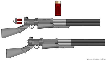 Demtek Hole Puncher Double Barrel Shotgun by HENVOK