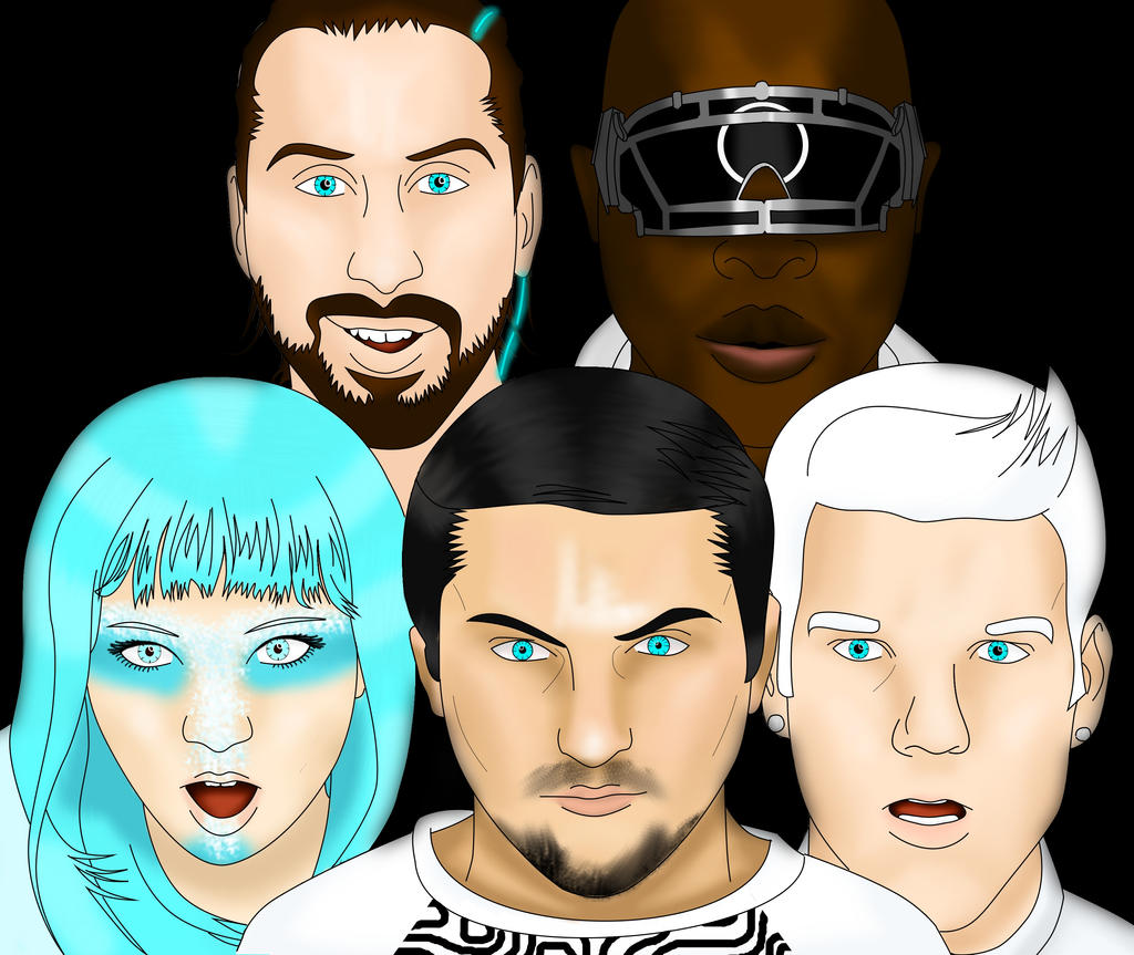 Pentatonix daft punk wallpaper