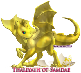 Thallyath - Hatchling by SecondPass
