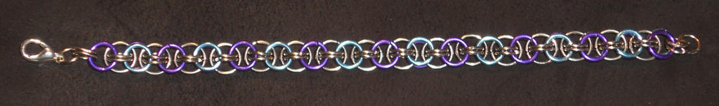 Sky Blue Purple Helms Bracelet10-2014 by simplysyd