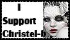 Christel stamp II by MariaAJMD