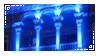 Blue Lights Stamp by V-Mordecai